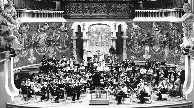 Jugendsynphonieorchester unter der Leitung von StD a. D. Werner Tillmann