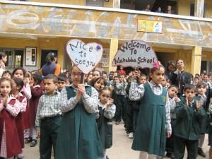 Mahaba-Schule im Müllviertel von Kairo